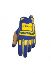 LIFE LINE PERFORMANCE GLOVES blue-yellow
